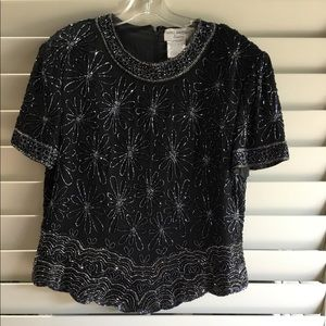 Beaded and Sequin TOP